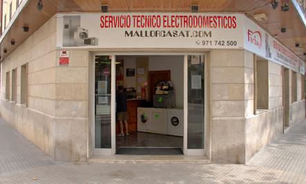no somos servicio técnico Oficial Whirlpool en Mallorca